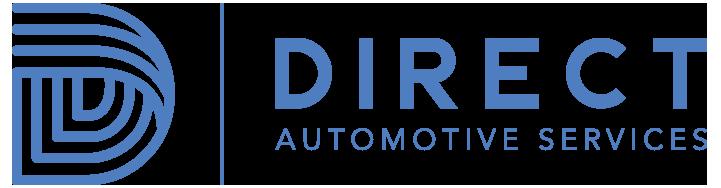 direct automotive services logo blue