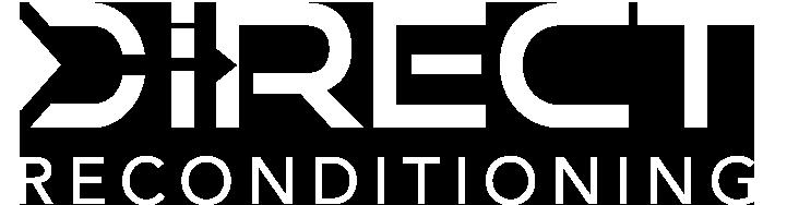 direct reconditioning logo white