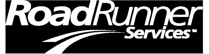 roadrunner services logo white