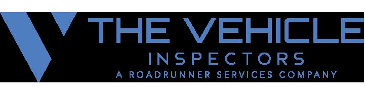 the vehicle inspectors logo blue